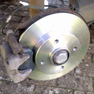 peugeot 307 rear brake disc replacement guide
